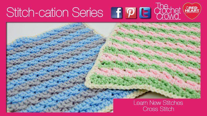 Crochet Cross Stitch Texture