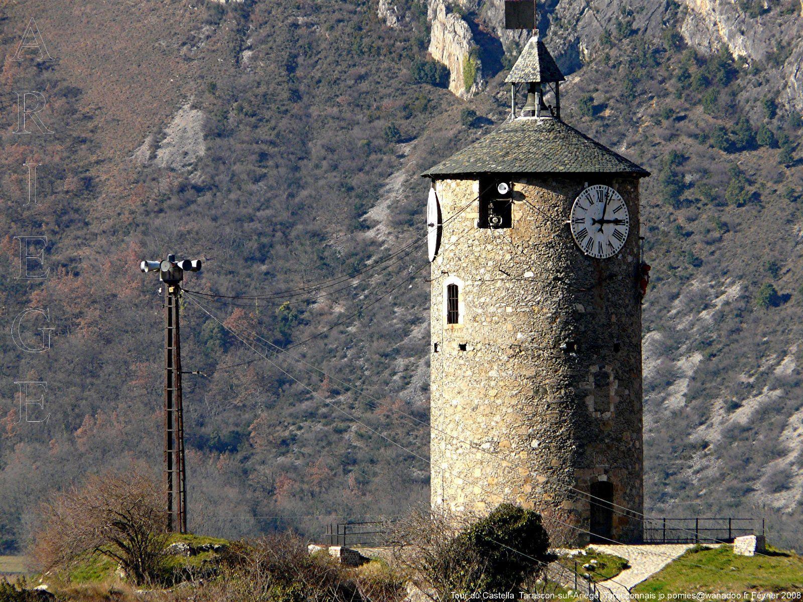 Tarascon sur ari ge tour du castella ariege - Office de tourisme tarascon sur ariege ...