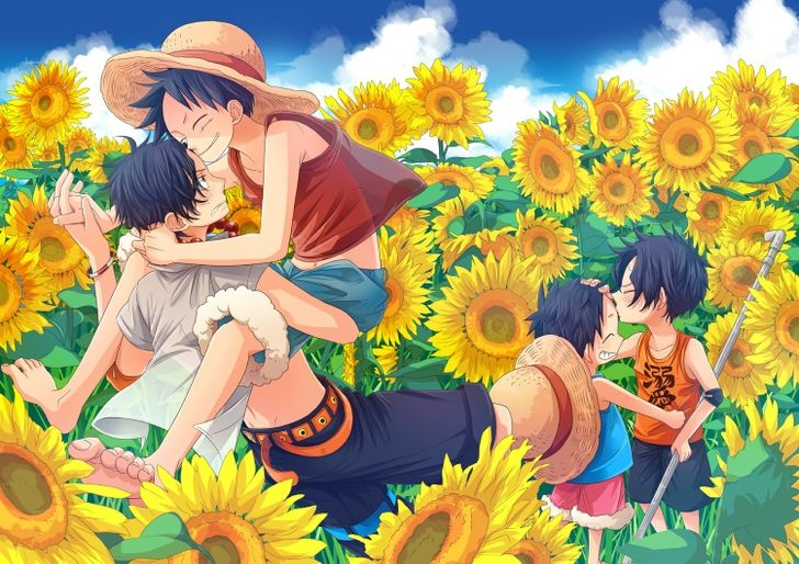 one piece marco ace one piece ace luffy 1500x1061 wallpaper