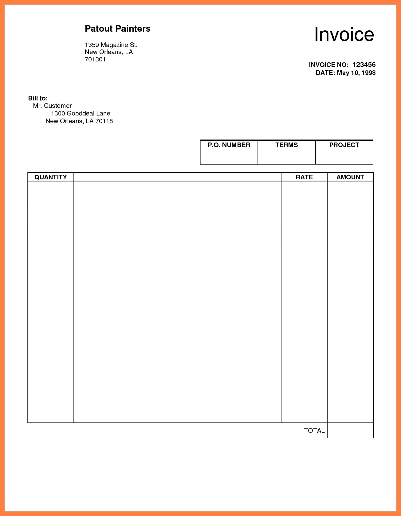 How To Make A Invoice Google Docs Template Templates Word Google Docs Templates Resume .