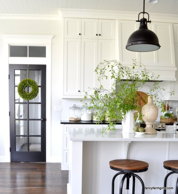 Best Simple Spring Decor Farmhouse Style Kitchen Kitchen 400 x 300