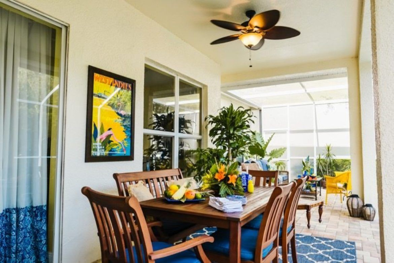 West Indies Inspired Lanai Makeover | Lanai, Patio ...