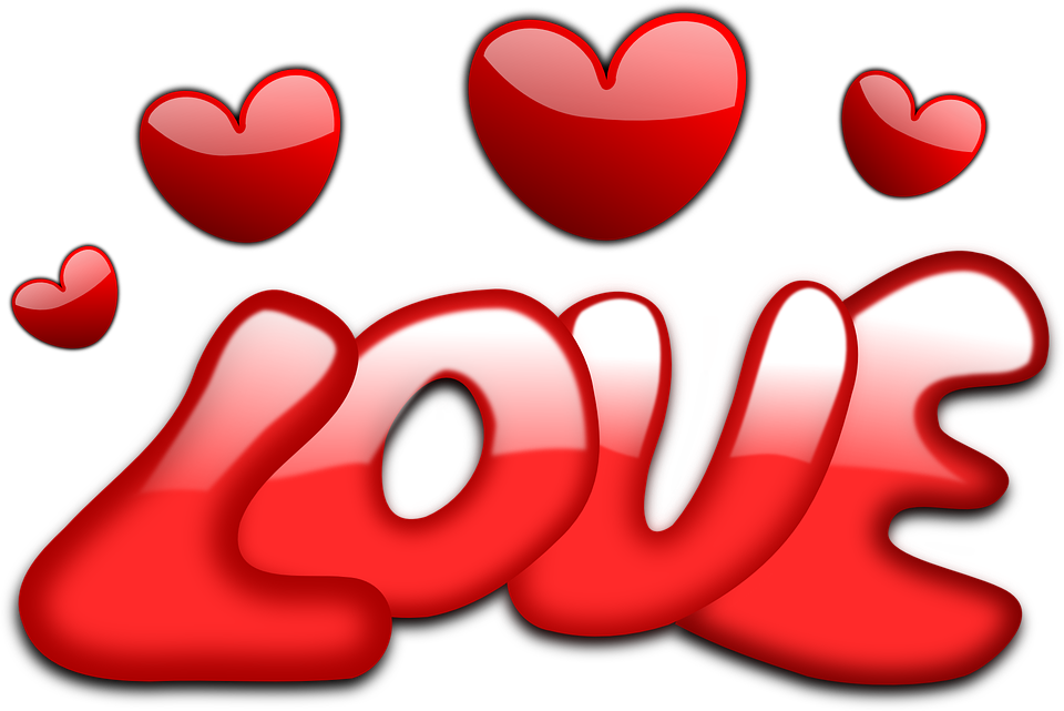 Free Image on Pixabay - Love, Hearts, Valentine, Gloss, Red ...