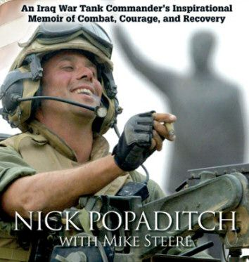Once a Marine: An Iraq War Tank Commander's Inspirational Memoir of Combat, Courage, and Recovery by Nick Popaditch. YA 956.7 POPADITCH.
