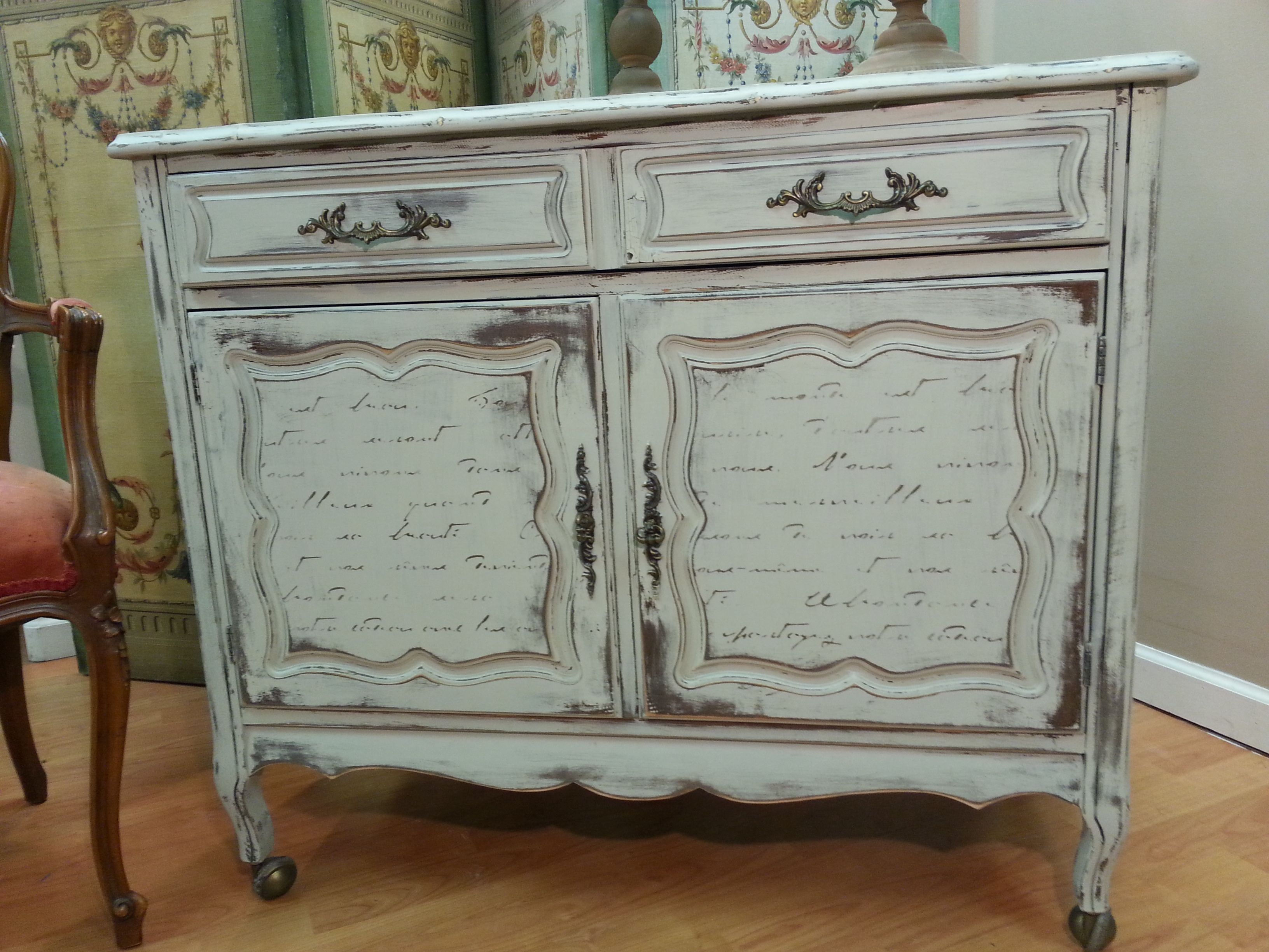 Small Shabby Chic Sideboard Colours: Bedford From Fusion Bronze Metallic  From Fusionu0027s Mathew Mead Studio