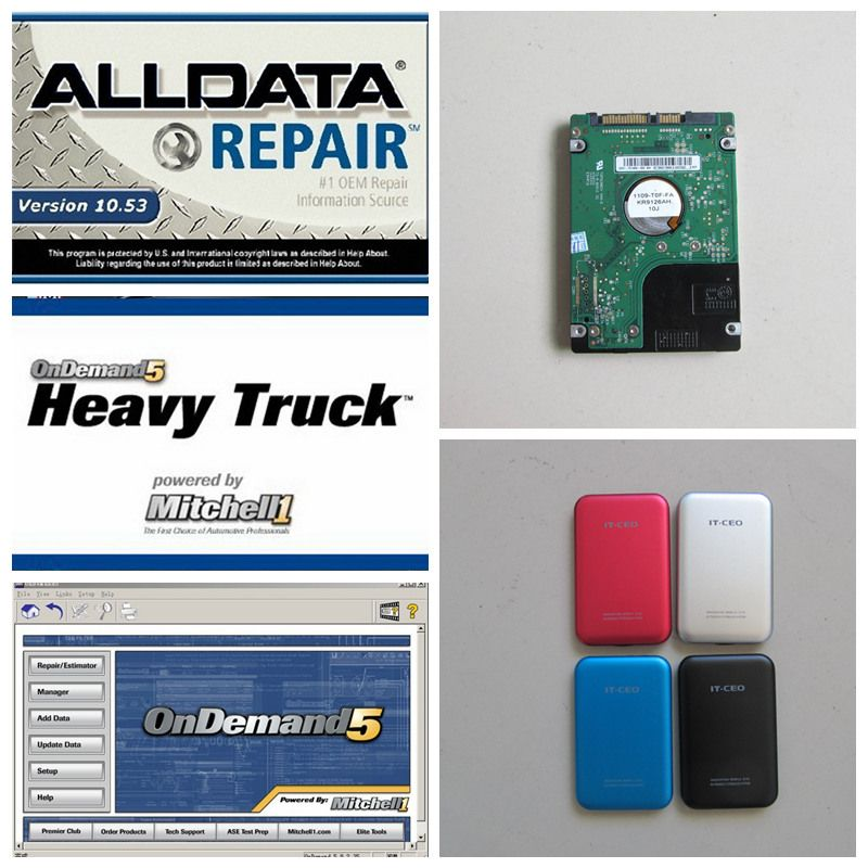2017 alldata 10.53 auto repair software alldata and mitchell on ...