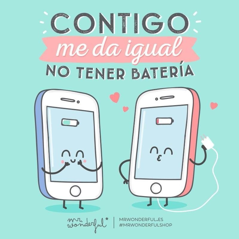 #MrWonderful #nobattery #love #w/you