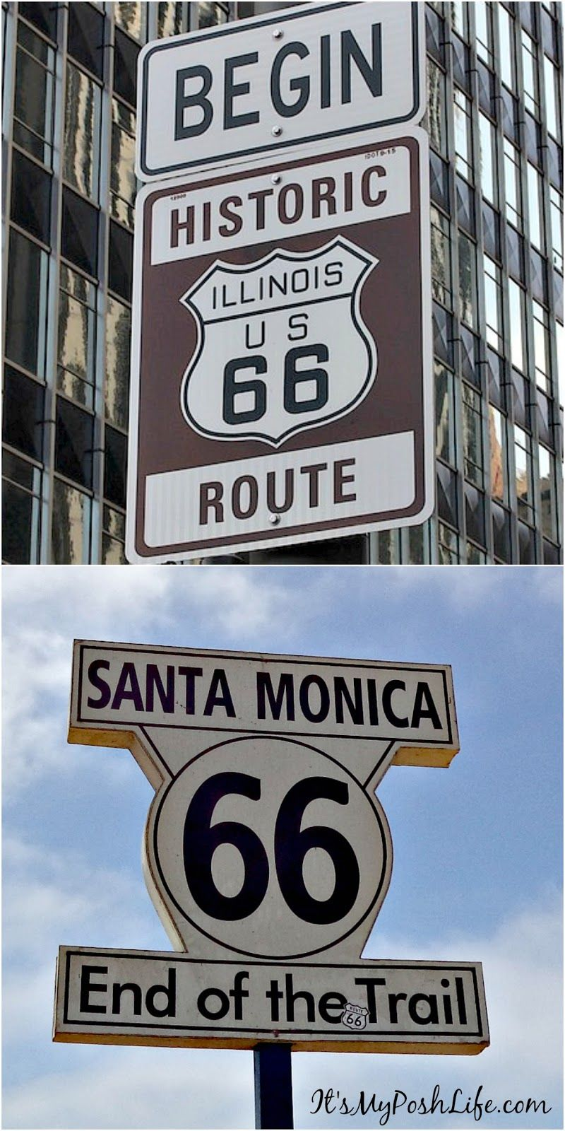 Test your knowledge- do you know where Route 66- begins and ends? You should see where it happens>