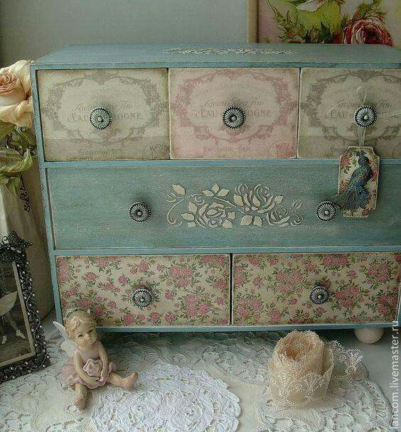 Pin de Celina Jedlicka en muebles Pinterest Cajas, Muebles - muebles reciclados