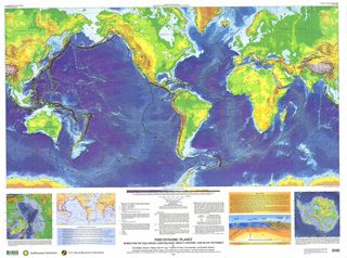 This dynamic planet world map of volcanoes earthquakes impact this dynamic planet world map of volcanoes earthquakes impact craters 130000000 scale gumiabroncs Images