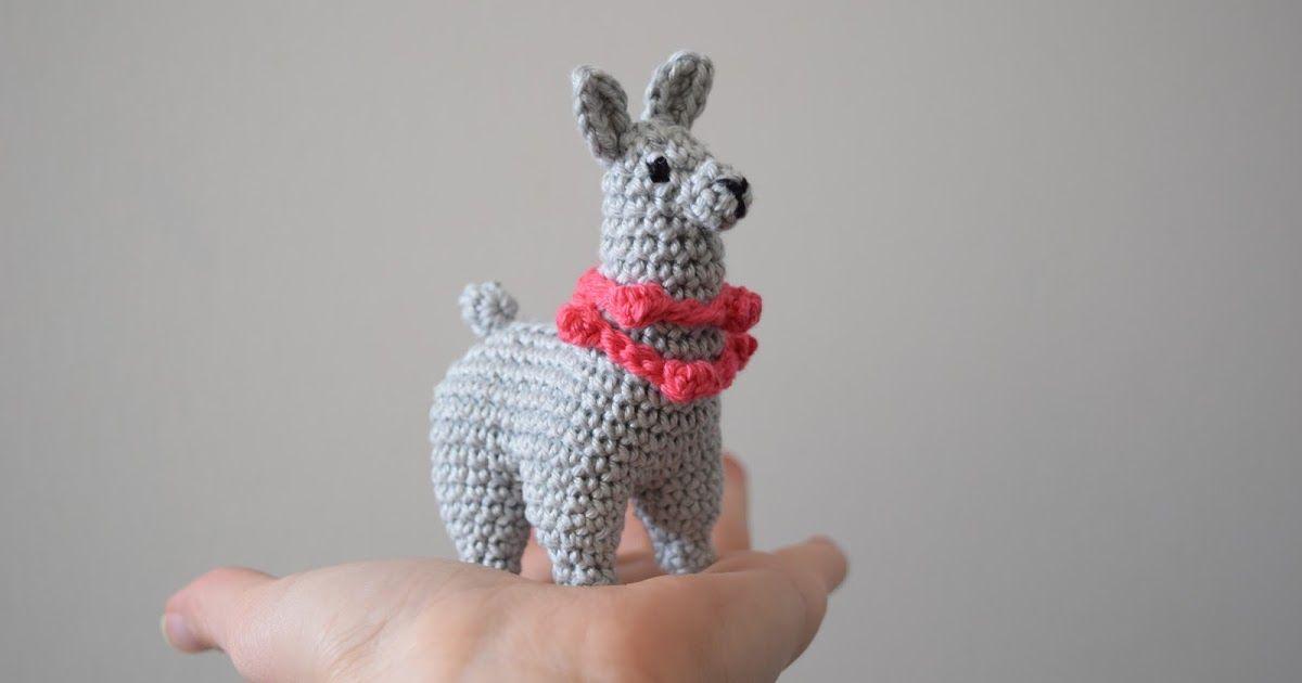 Lama häkeln - Anleitung || crochet llama pattern, Amigurumi ...
