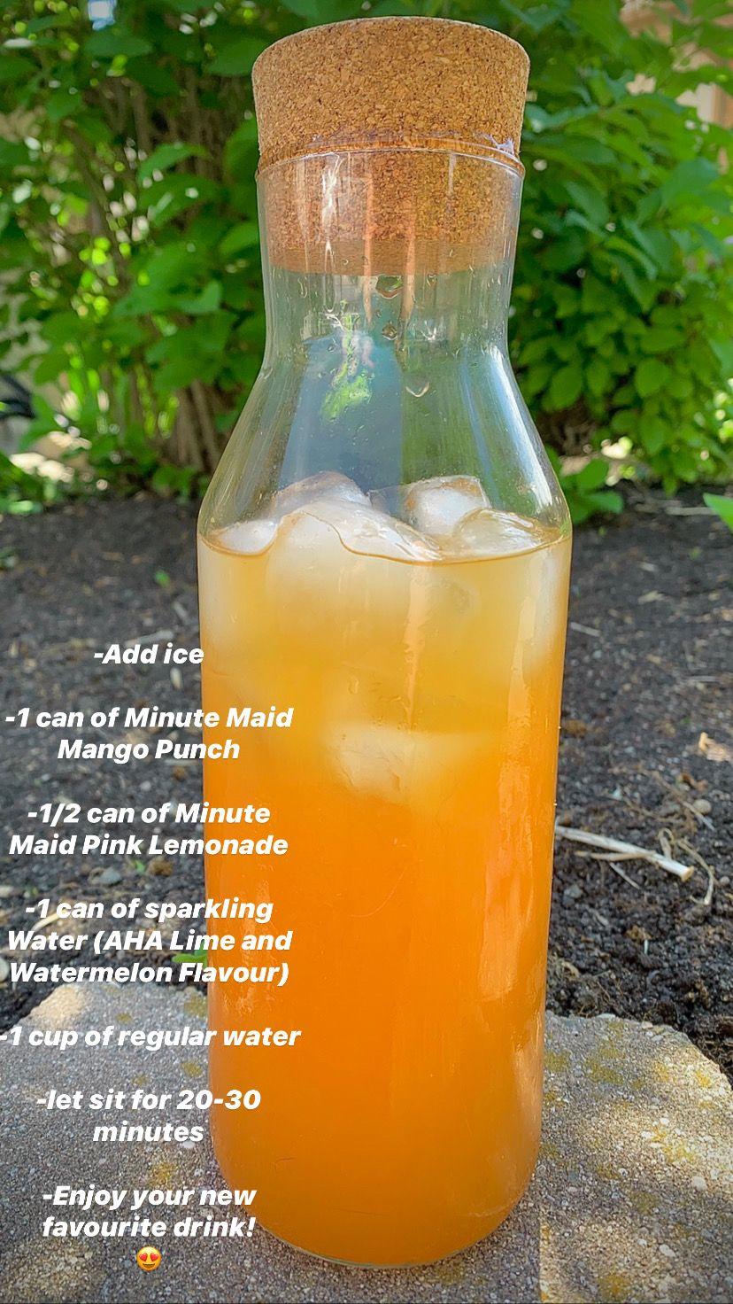 Mango Sparkling Lemonade