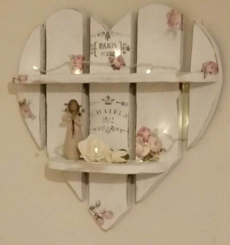 Photo of Cute Shabby Chic Valentines Decoration Ideas For Your Home 04
