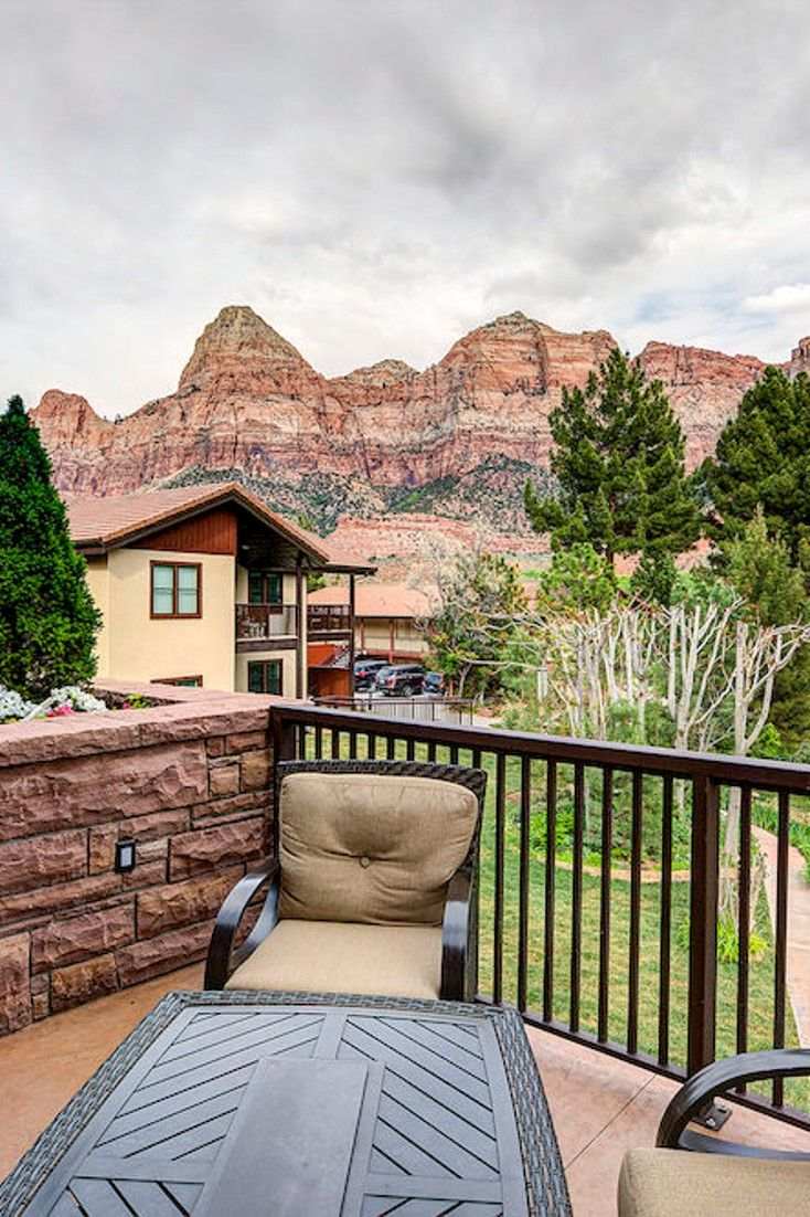 This Boutique Resort Is Nestled In The Heart Of Zion Canyon, Bordering Zion  National Park