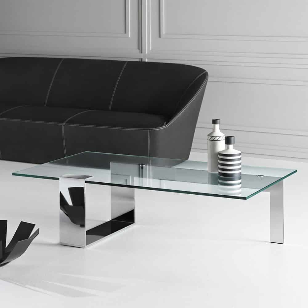 Plinsky Glass Coffee Table By Tonelli Klarity Glass Furniture Coffee Table Glass Coffee Table Glass Furniture [ 1000 x 1000 Pixel ]