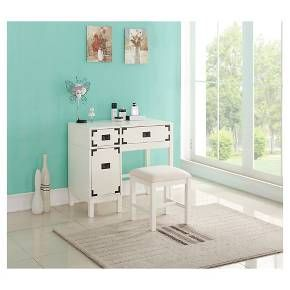 Campaign Vanity White Threshold Target Vanity Furniture