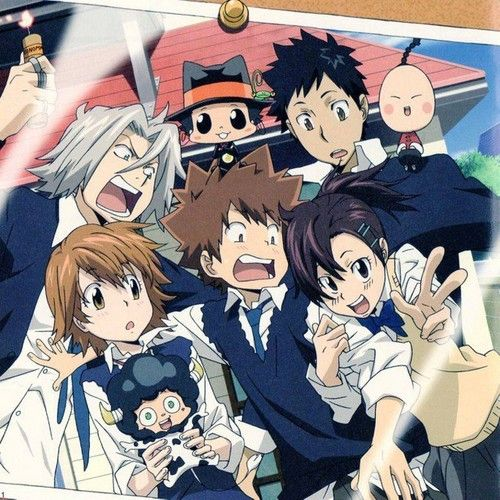 Vongola Family Katekyo Hitman Reborn Photo Hitman Reborn