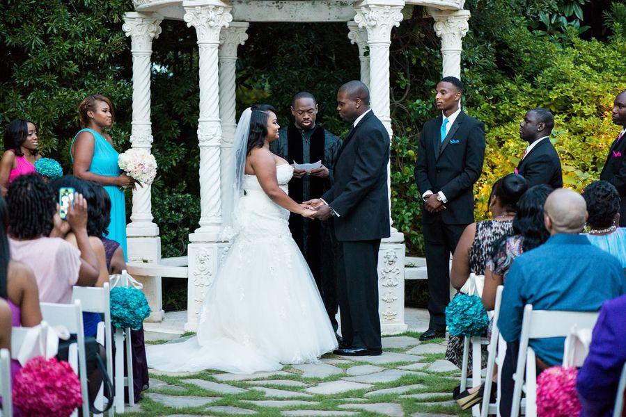 A CMYK Themed Atlanta Wedding At The Atrium by Matthew Druin Photography