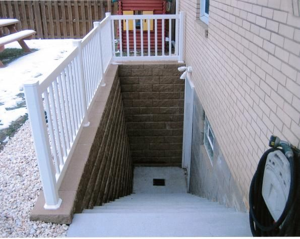 Pin By Paul Bennett On Exterior Basement Entrance