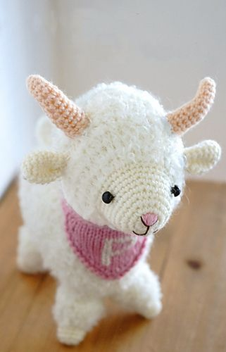Year of the Sheep or the Goat - Free Amigurumi Pattern- PDF Format ...