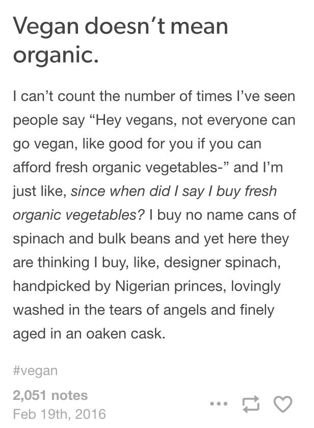 So I was on tumblr and saw this funny post #vegan #tumblr - food handlers answers