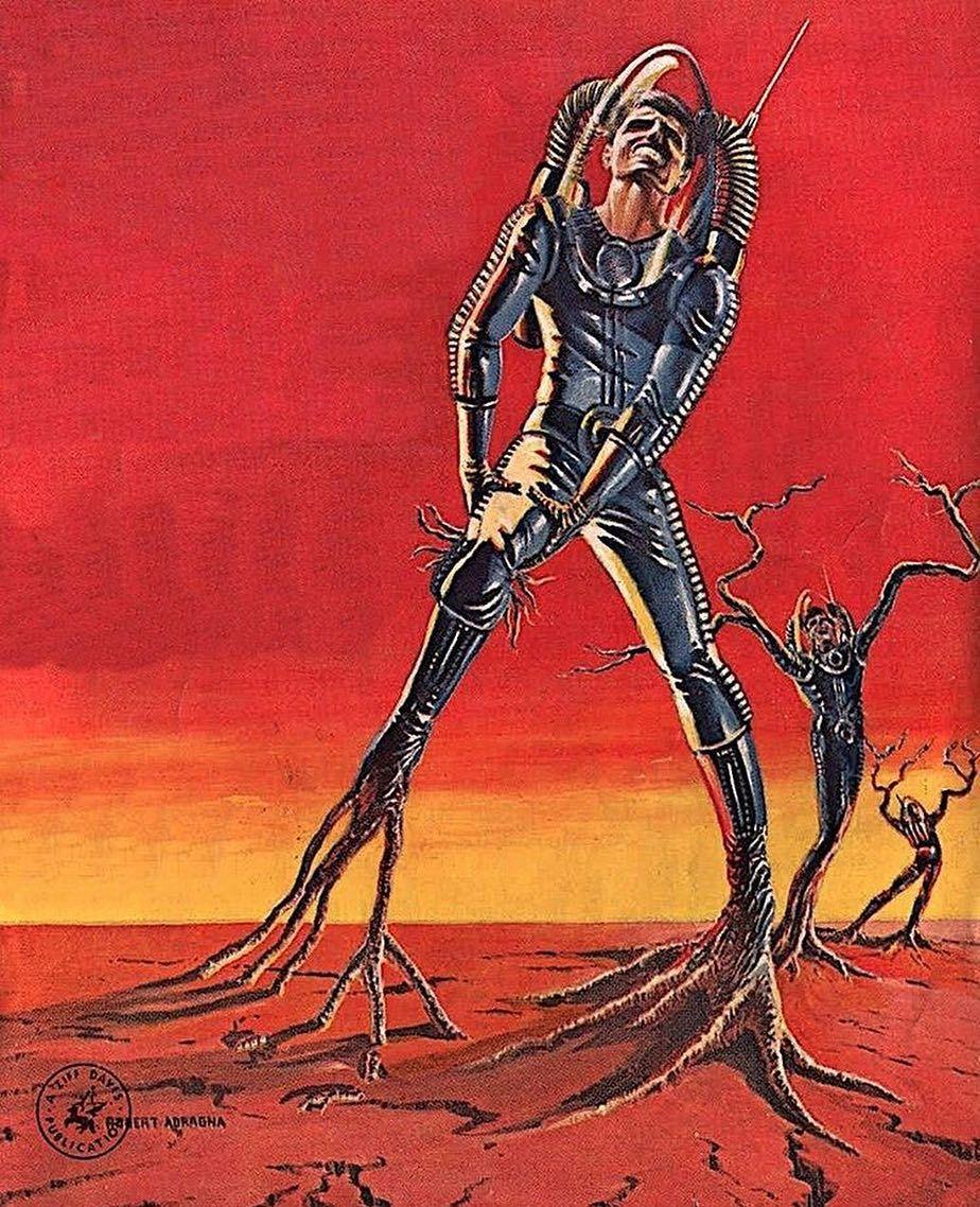Retro Vintage Sci Fi Art Sci Fi 40s 50s 60s Magazine Space Universe Fantasy Cyber Futuristic Future 70s Sci Fi Art Scifi Fantasy Art Vintage Sci Fi Art