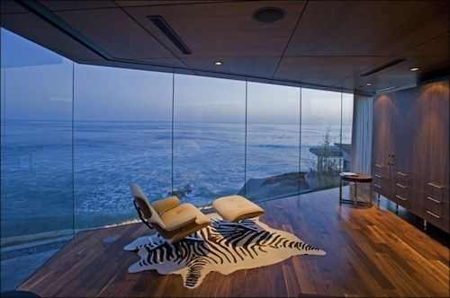 chair and a view