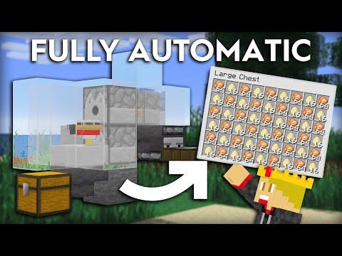 36 Minecraft Easy Chicken Farm Instant Cooked Chicken 1 16 1 15 Youtube How To Cook Chicken Chicken Farm Easy Chicken