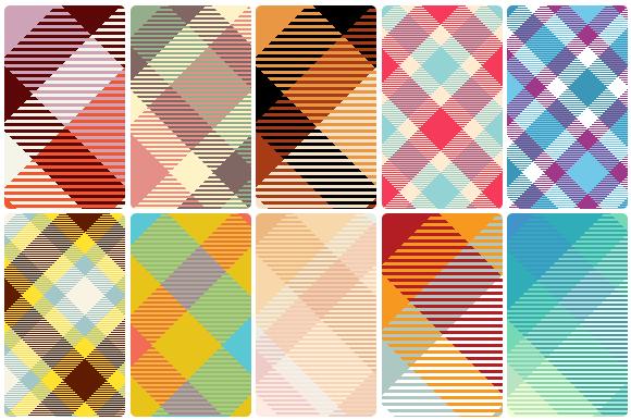 Check out Tartan patterns on Creative Market