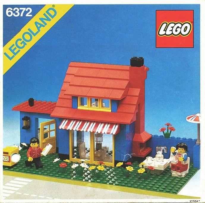6372 Town House Classic Lego Lego House Lego Instructions