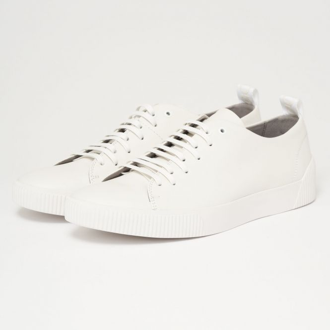 ffc2f01d0f51 HUGO - Zero Tenn Trainers - White Hugo Boss, European Fashion, Trainers,  Sweatshirt