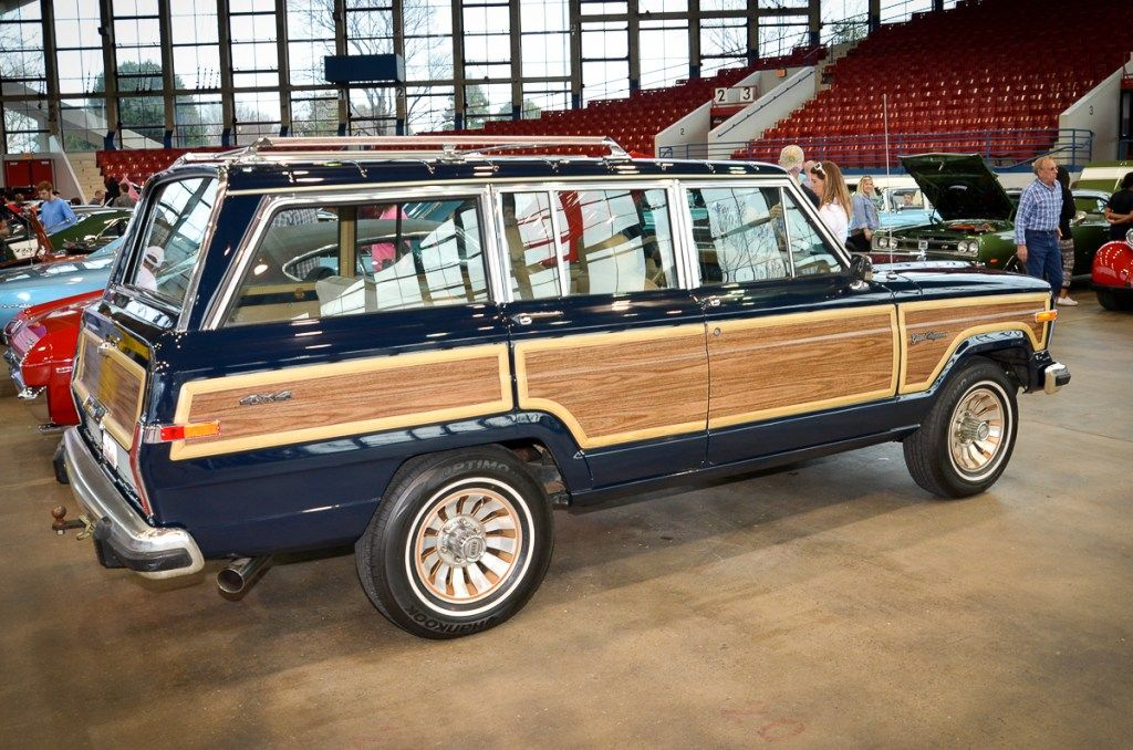 2017 Nc International Auto Expo Classics Display Four Wheel Trends Jeep Wagoneer Classic Cars Trucks Willys Jeep