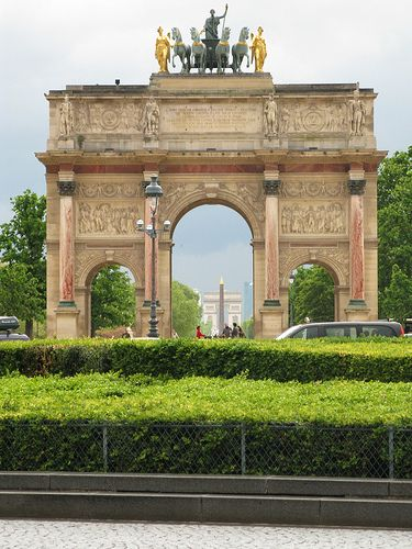 Arc De Triomphe Du Carrousel With Images Paris France Wonders