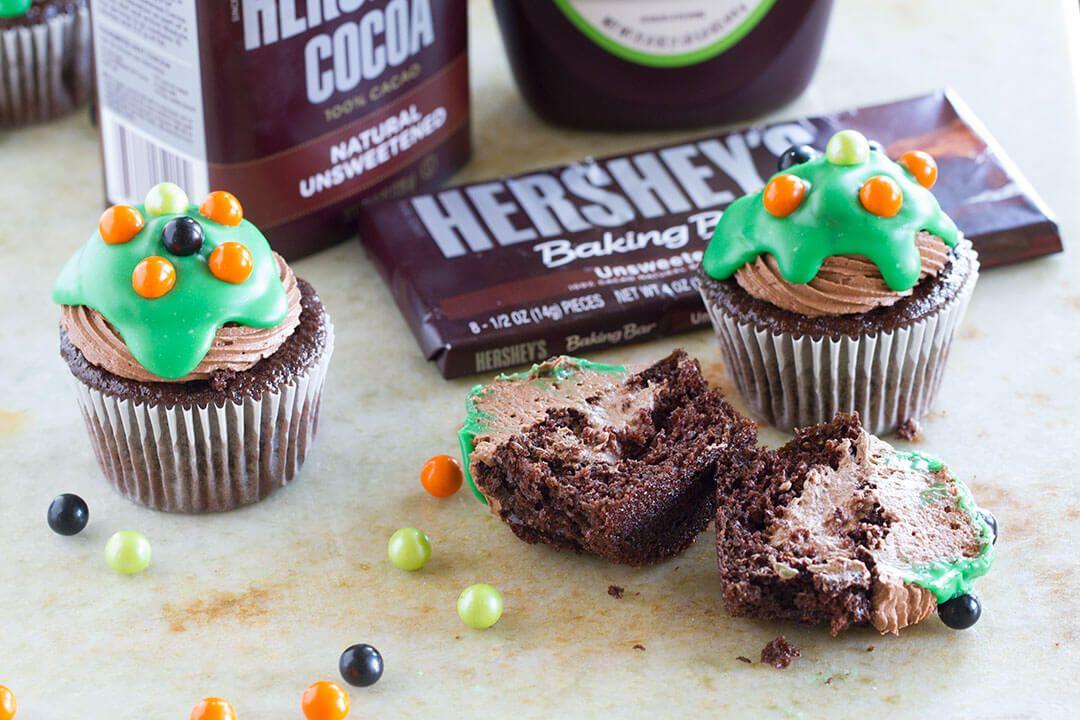 Halloween fun and ultimate chocolate cupcakes chocolate