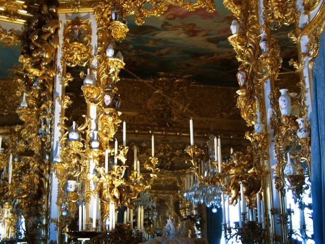 P2004 08 10 12 48 31 3376 01 Linderhof Palace Hall Of Mirrors Palace