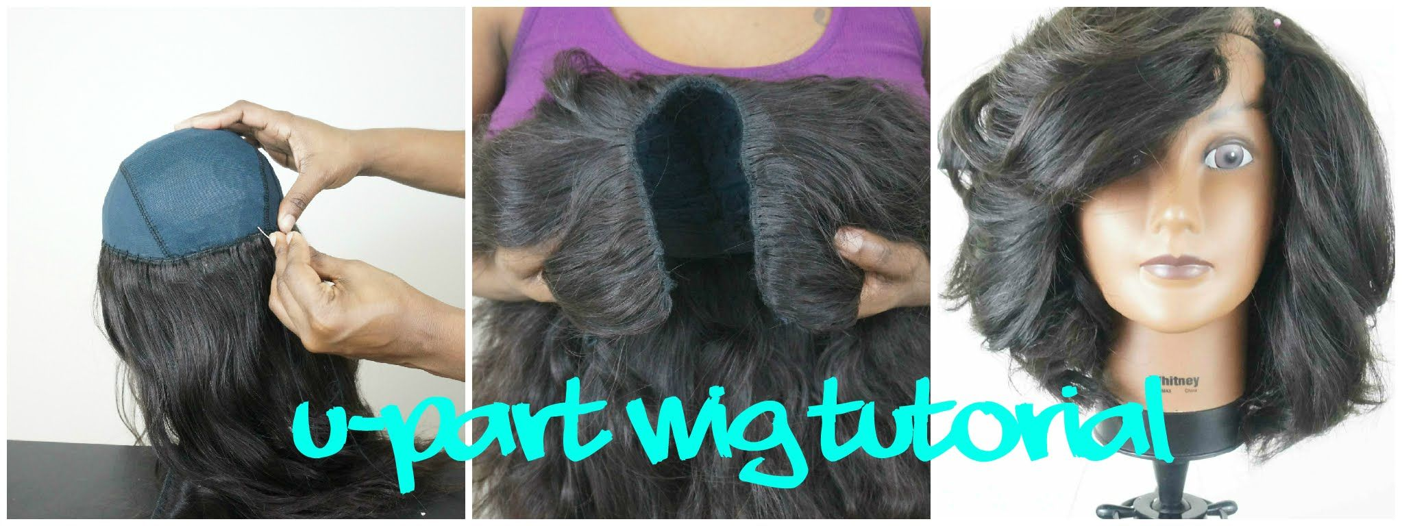 Tutorial How To Make A U Part Wig U Part Wig Custom Wigs Wigs