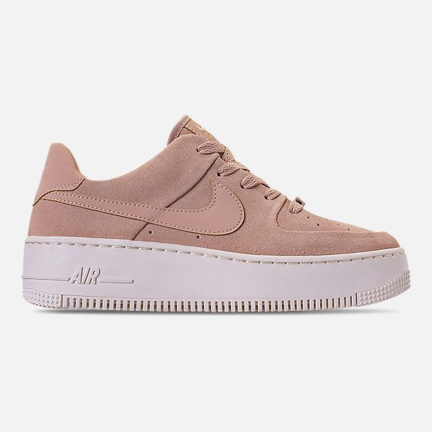 huge selection of 5cdcc 9c6ad Right view of Women s Nike AF1 Sage XX Low Casual Shoes in Particle Beige Particle  Beige Phantom