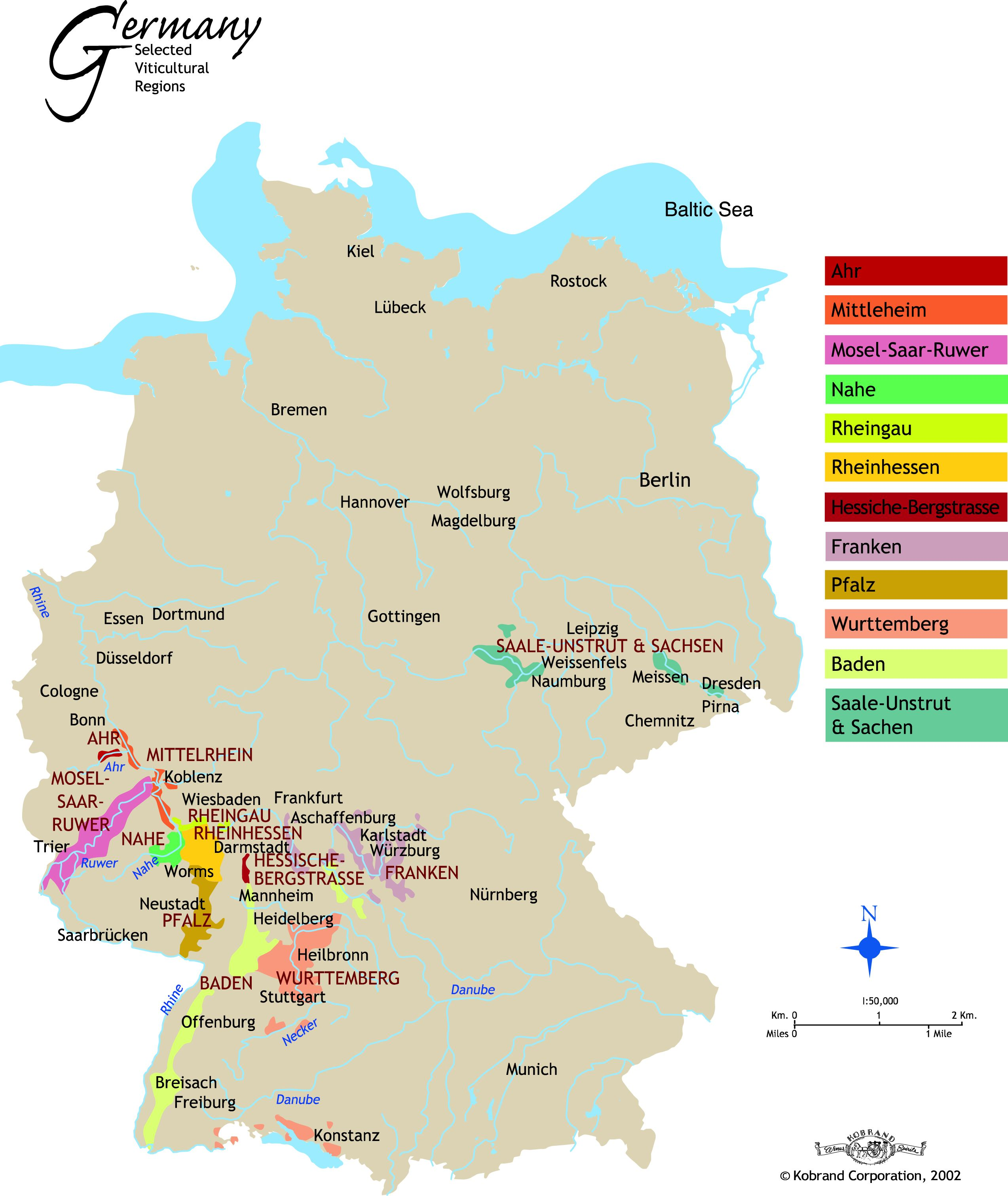 map german wine regions google search
