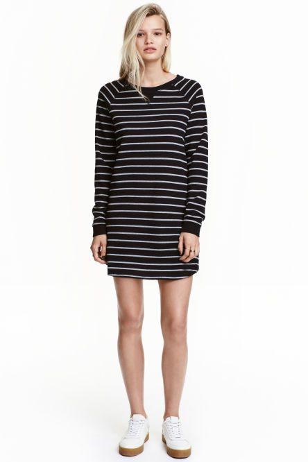 bbd65500c Vestido en tejido sudadera | Moda Y Estilo _ Fashion And Style ...