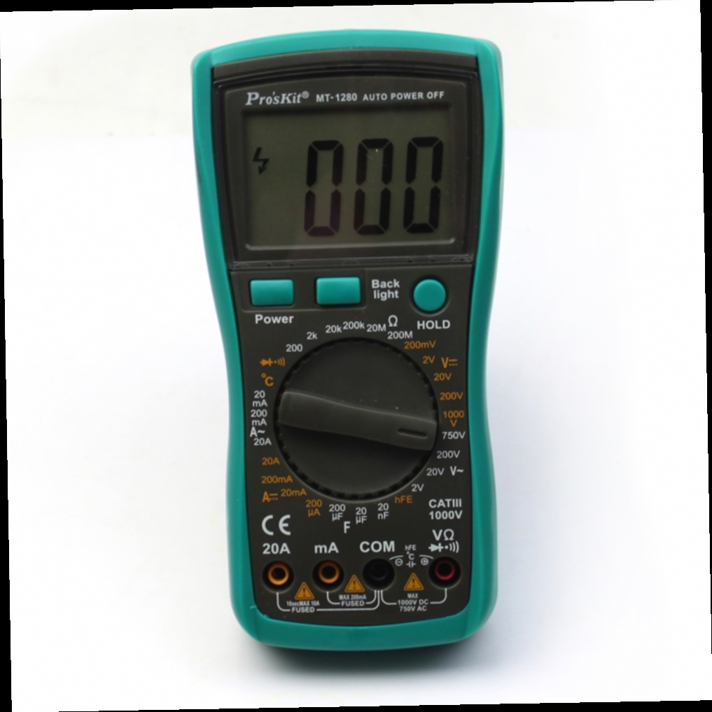 41.00$  Watch now - http://ali1z8.worldwells.pw/go.php?t=32701696289 - Original authentic MT-1280 Professional Digital Multimeter with temperature function capacitance 41.00$