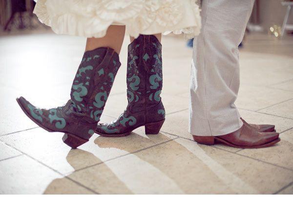 Wedding Cowboy Boots For Bridal   Wedding cowboy boots, Bride in ...