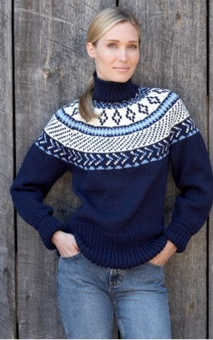 Traditional Fair Isle Yoke Pullover | Fair isles, Pullover and ...