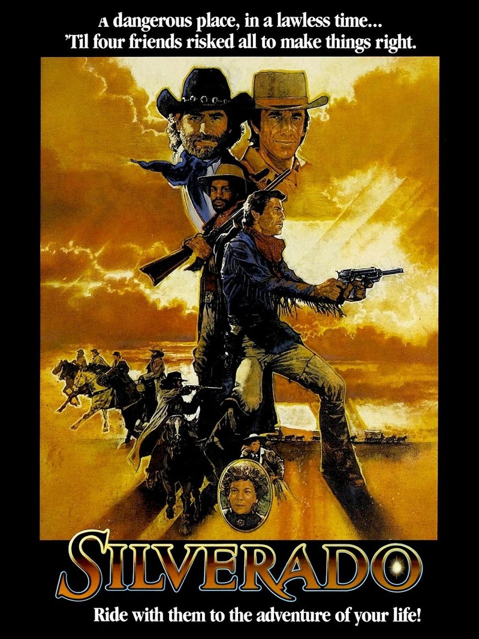 Silverado (1985) HDTV | clasicofilm / cine online