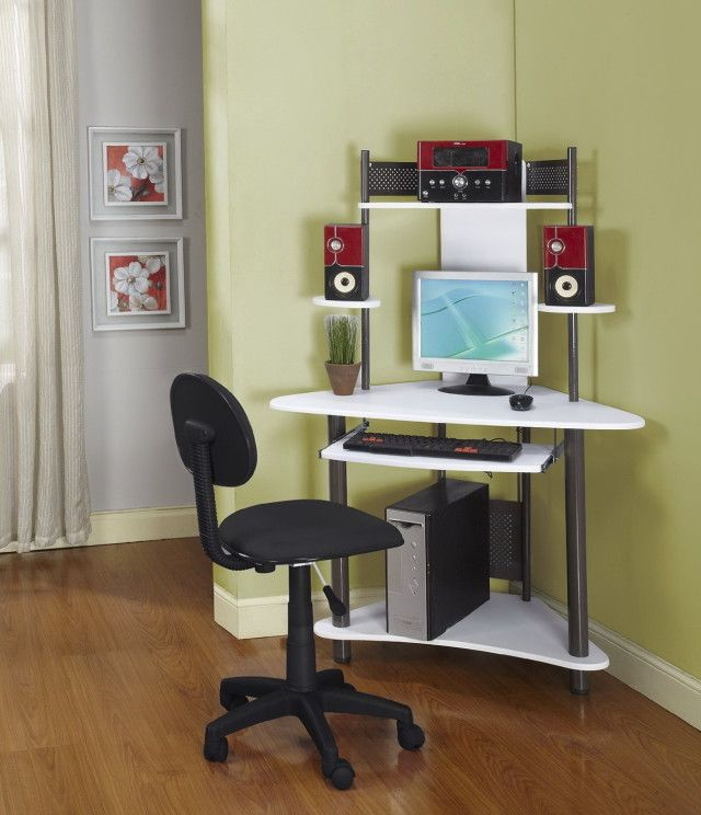 Image Result For Small Modern Corner Desk