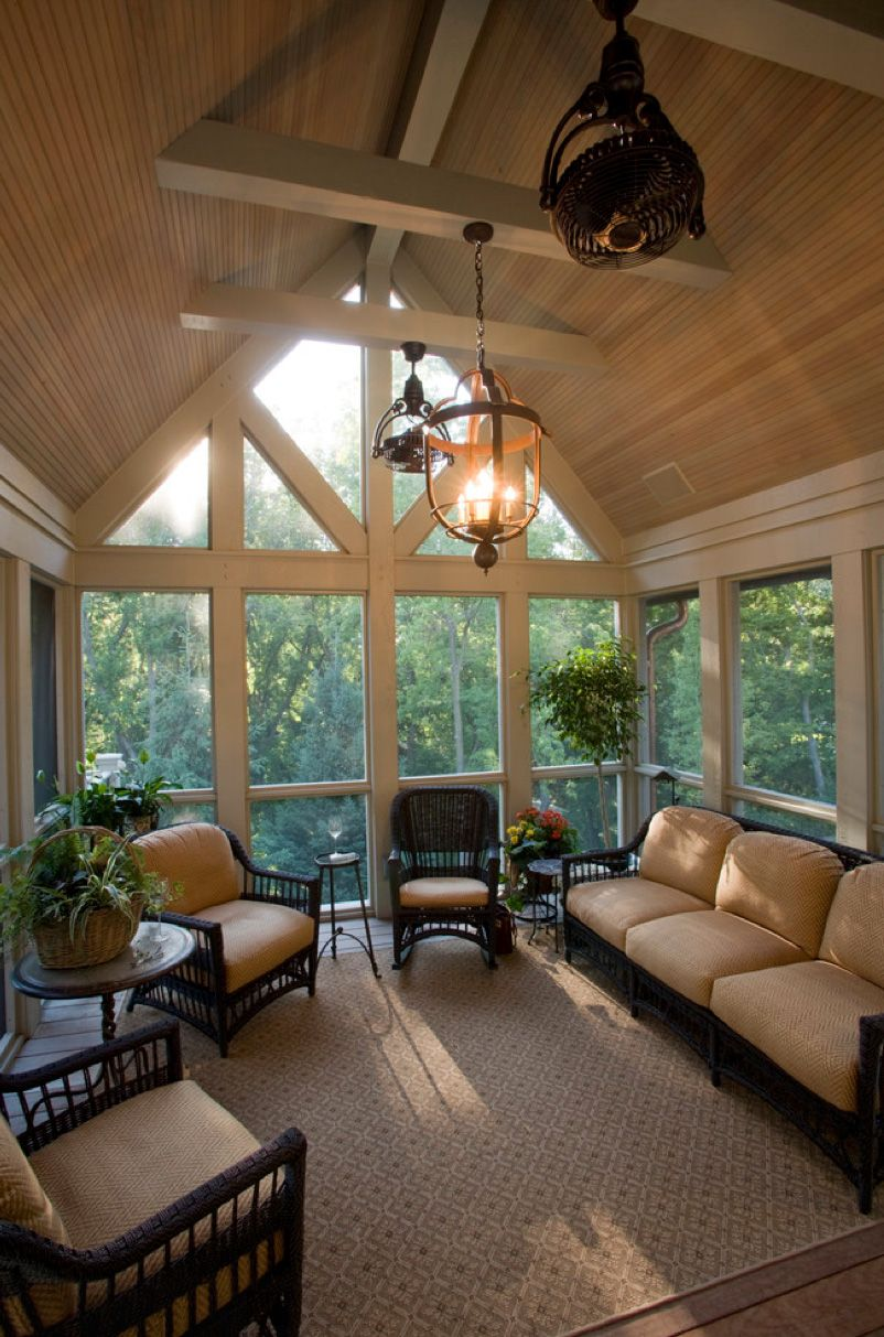 Screened Porch Decorating On A Budget