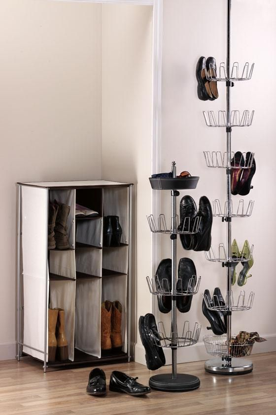 Yes I Would Like A Floor To Ceiling Revolving Shoe Tree Don T Even Own That Many Shoes And Still Want One