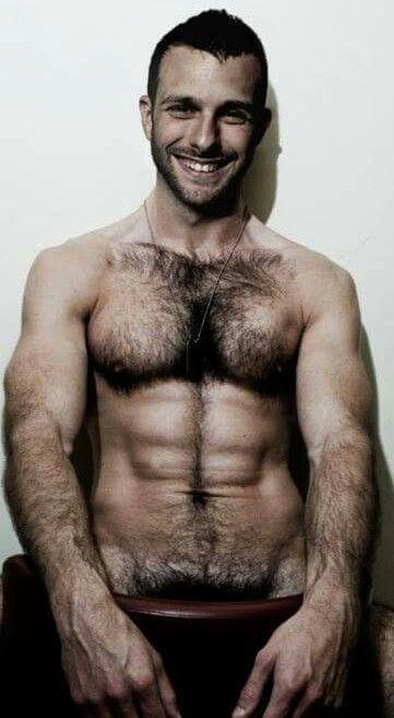 Hot hairy men com