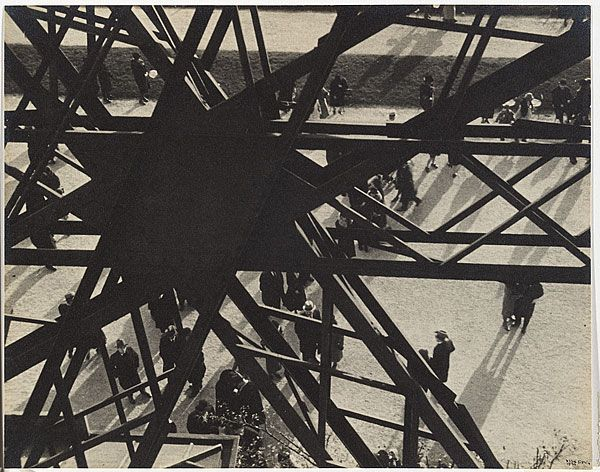 Ilse Bing, Eiffel Tower, Paris, 1931