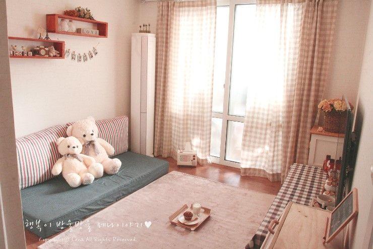 [카페같은 신혼집-① 거실] 17평 신혼집 꾸미기/오래되고 ...