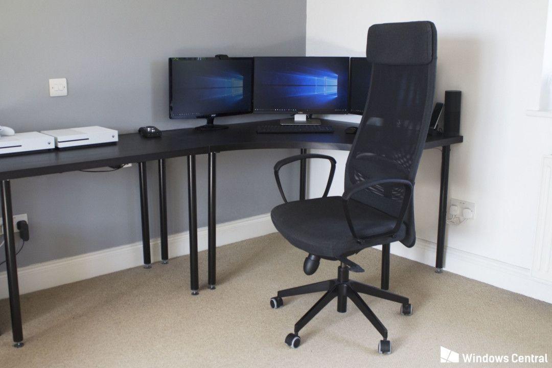 Best Computer Desk Chair Organization Ideas For Small Desk Ikea
